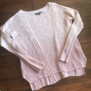 AE sweater, ombré pink size xsmall